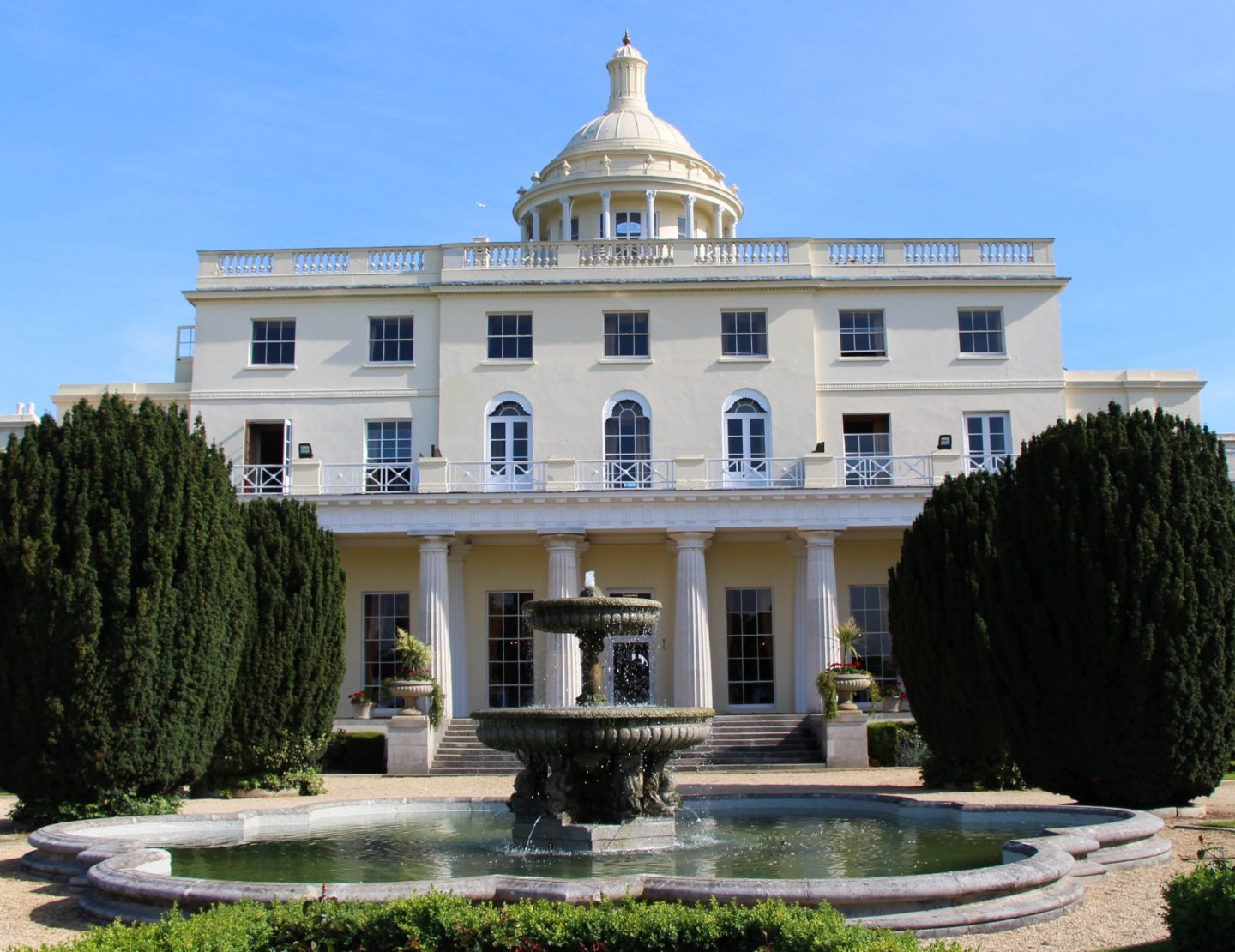 Stoke Park Hotel Mansion Building